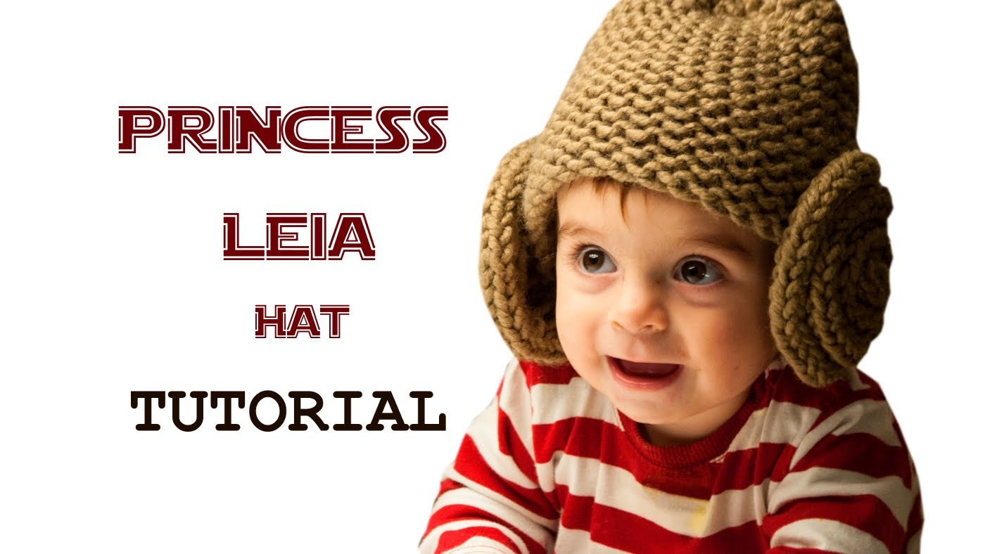 How to Loom Knit a Star Wars Princess Leia Hat (DIY Tutorial)