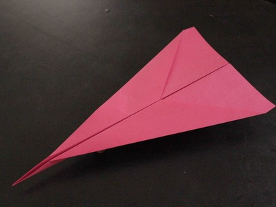 How to make a cool paper plane origami: instruction| Dart