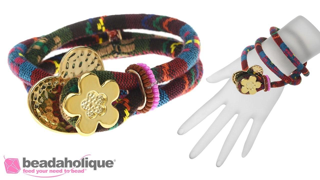 How to Make a Cotton Cord Bracelet by Fernando DaSilva