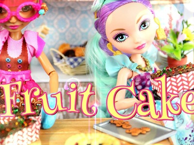 How to Make a Doll Fruit Cake - Doll Crafts