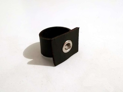 How To Make A Leather Ring In Ten Minutes - DIY Style Tutorial - Guidecentral
