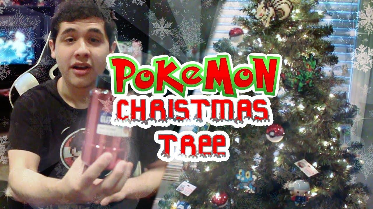 How to Make a Pokémon Christmas Tree!