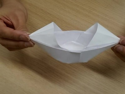 How To Make An Origami Chinese Boat