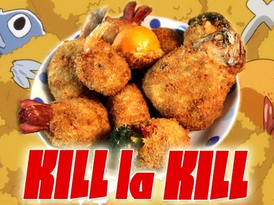 How to Make CROQUETTES from Kill La Kill! Feast of Fiction S4 Ep29