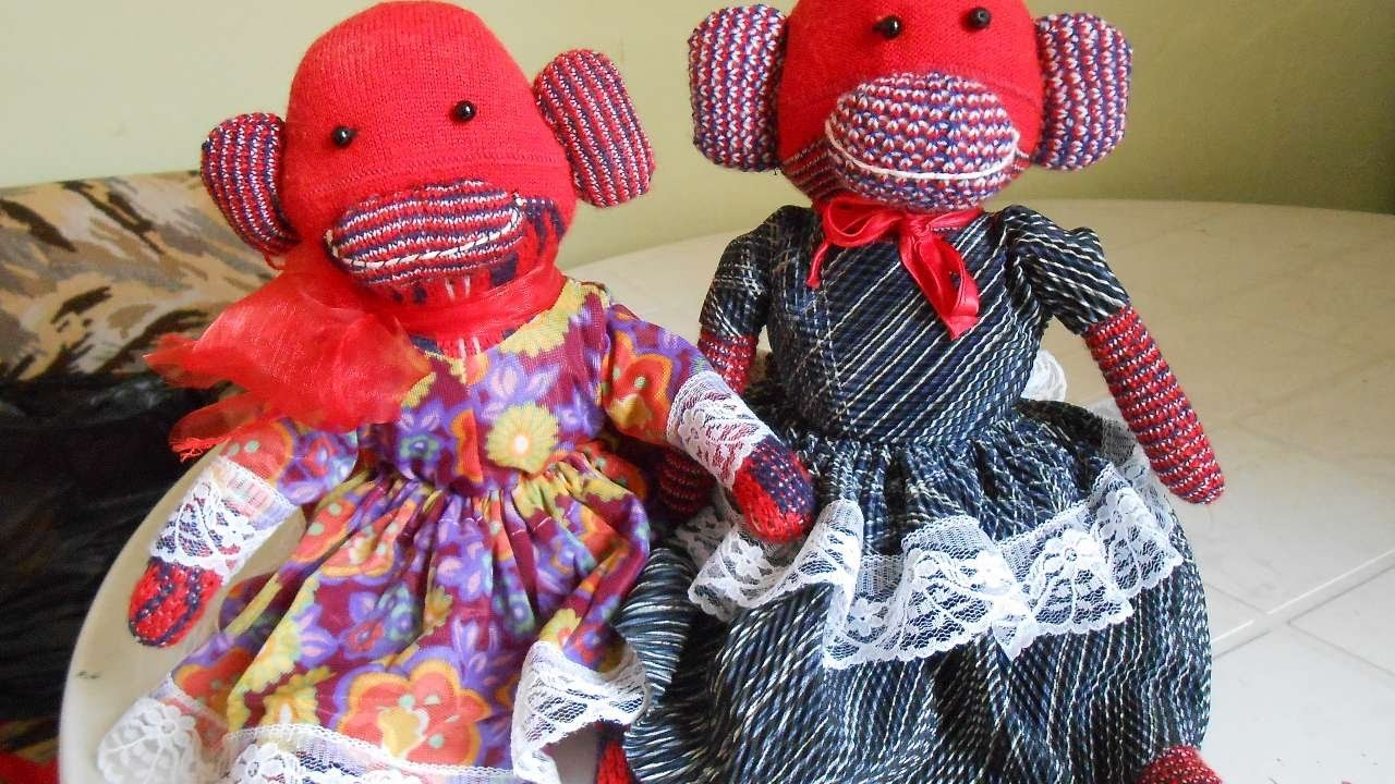 How To Sew A Fun Sock Monkey Dress - DIY Crafts Tutorial - Guidecentral