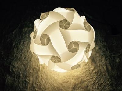 Iq light, Iq lamp, jigsaw light, jigsaw lamp, puzzle lamp, puzzle light, 30piece instruction