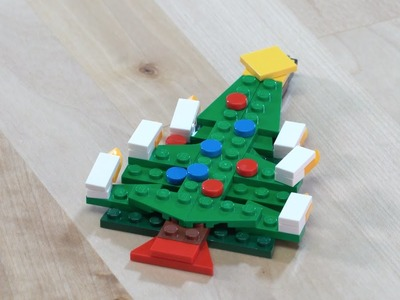 LEGO® Creator - How to Build Hanging Tree Ornament - DIY Holiday Building Tips