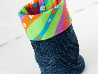 Make a Fabric Pen Holder - DIY Home - Guidecentral