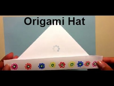 Origami for Beginners - Hat - Fun and Easy for Kids