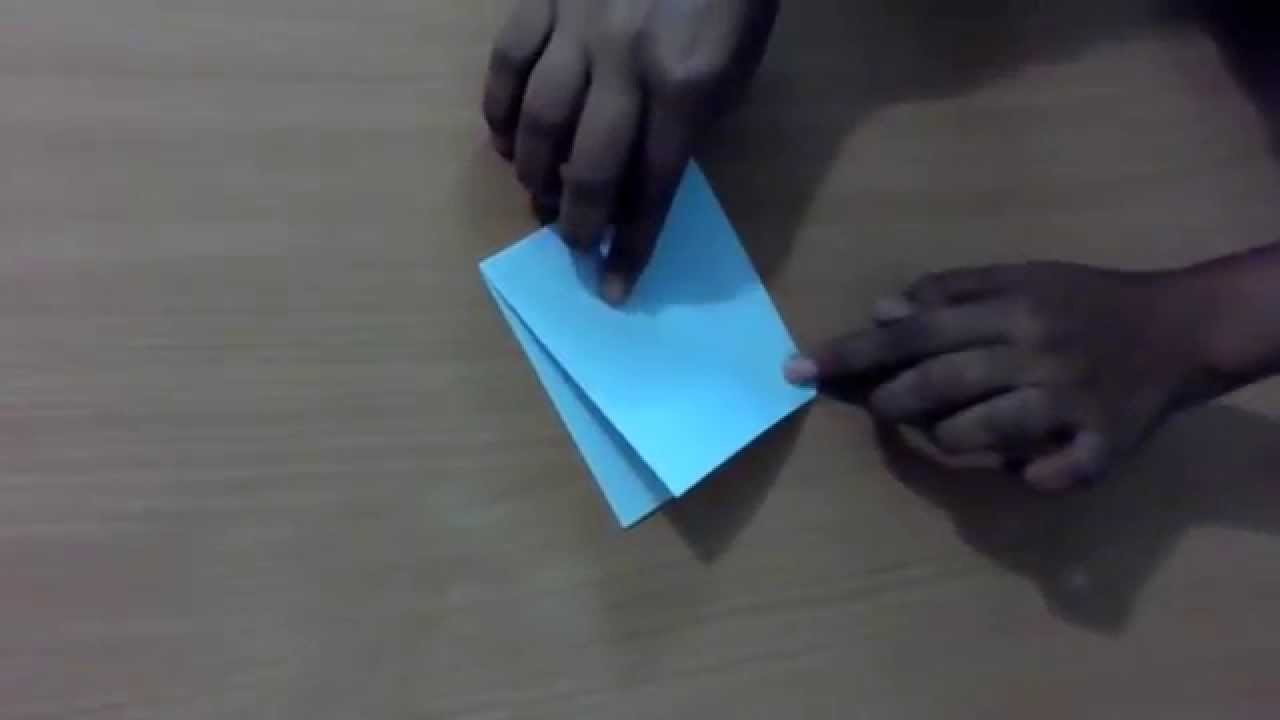 Origami : How to make paper crane or paper Bird