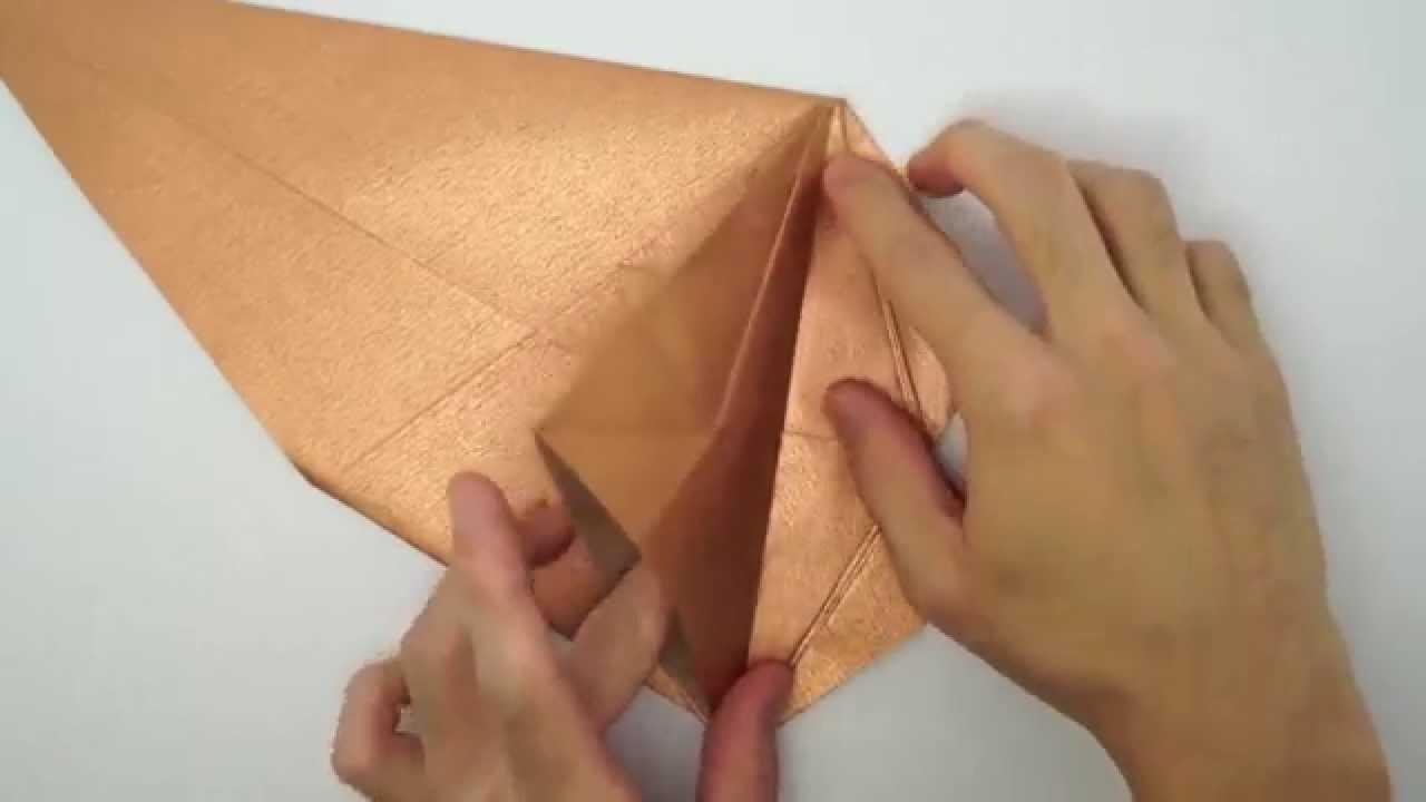 Origami Prehistoric Squirrel Scrat [Fernando Gilgado] Hand Making Paper Art Tutorial P2