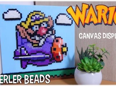 Perler Bead Wario Display | Ideas & Inspiration
