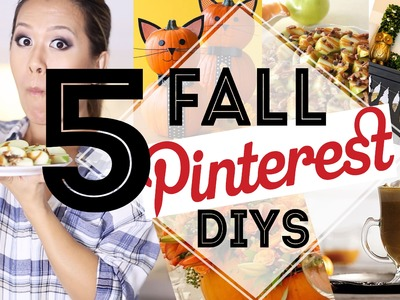 Pinterest DIYS You MUST Try for FALL | ANNEORSHINE