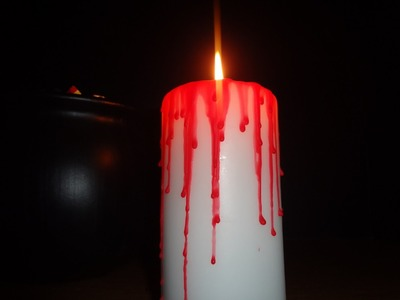 Quick & Easy : D.I.Y. Blood Dripping Candle