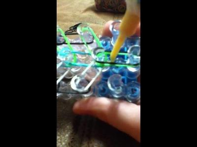 Rainbow loom firework bracelet