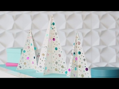 Sequined Christmas Trees