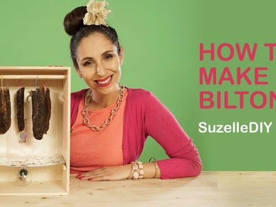 SuzelleDIY - How to Make Biltong