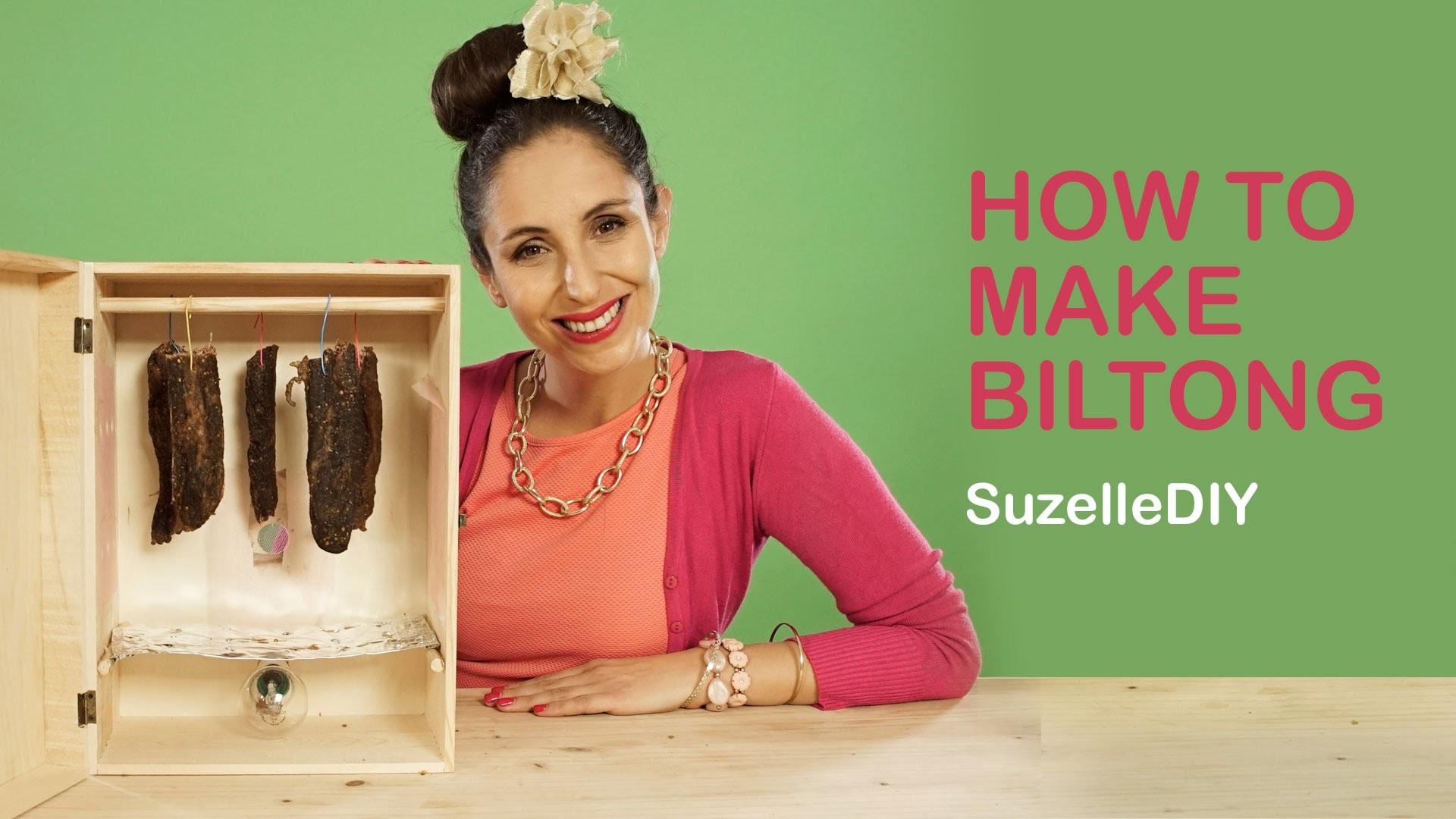 SuzelleDIY - How to Make Biltong