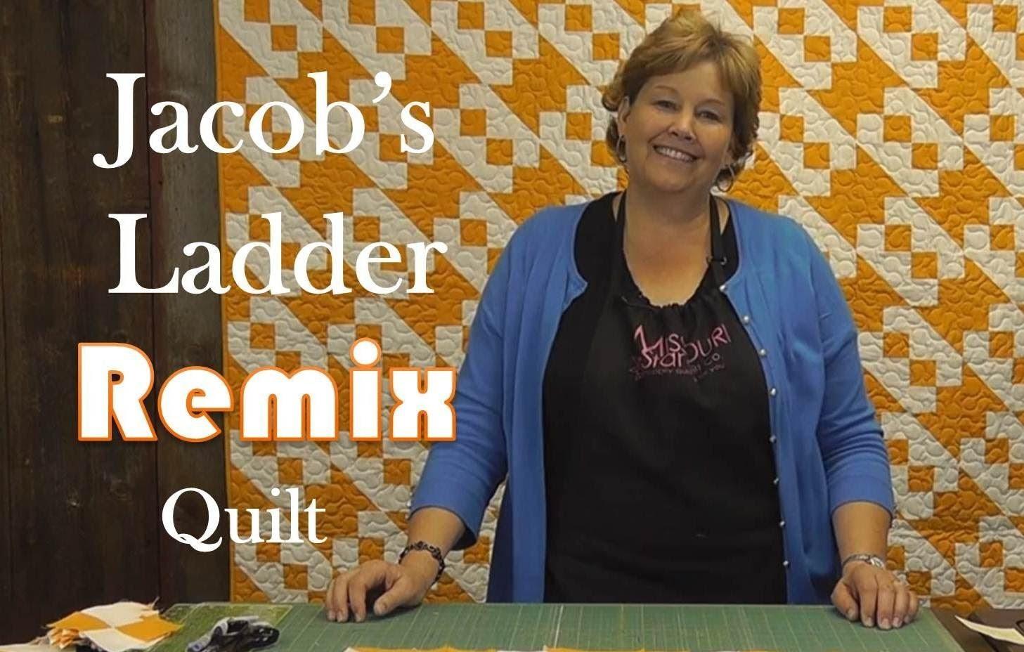 The Jacob's Ladder Remix Quilt
