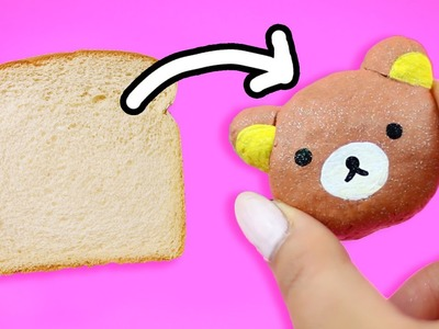 TURN BREAD INTO CLAY ♥ DIY
