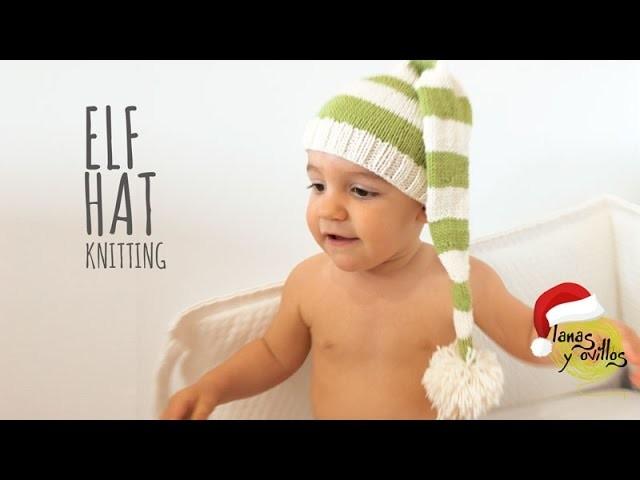 Tutorial Elf Knitting Hat Easy (All Sizes)