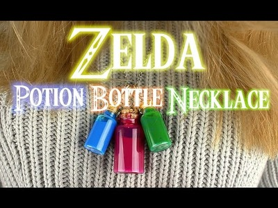 Zelda Potion Bottle Necklace DIY | Charles Linnell