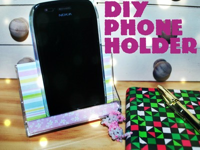 DIY | Acrylic Phone Holder [rápido.fácil.barato]