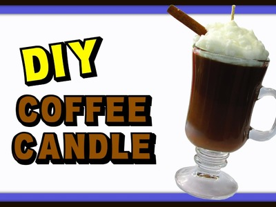 DIY Coffee Candle ~ Gift Idea ~ Craft Klatch