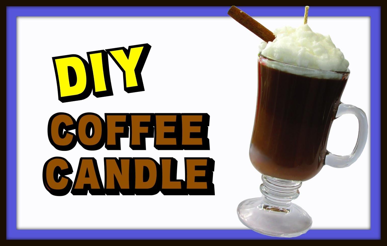 DIY Coffee Candle ~ Gift Idea ~ Craft Klatch