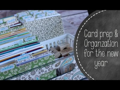DIY Handmade Card Organization With Wendy Cranford From Luvin' Stampin