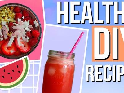 DIY Healthy Summer Recipes! Easy & Quick!