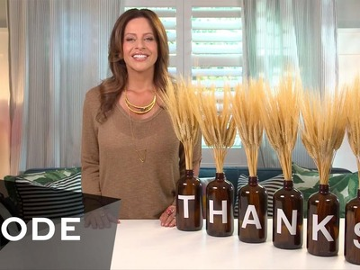 DIY Holiday Table Decor   Glam It Yourself
