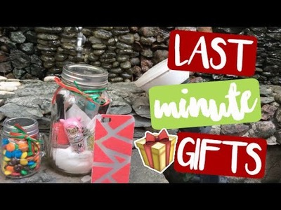 DIY LAST MINUTE CHRISTMAS GIFTS + GIVEAWAY