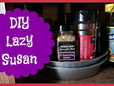 DIY Lazy Susan (Quick, Easy, and Cheap)