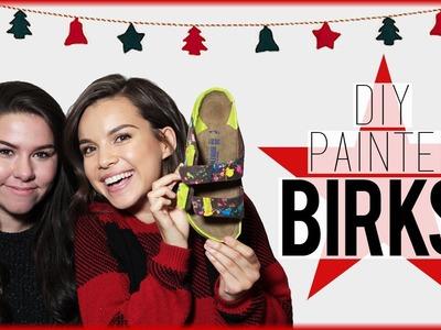 DIY Painted Birkenstocks ft. Hayley Williams!. #DIYDecember Day 7