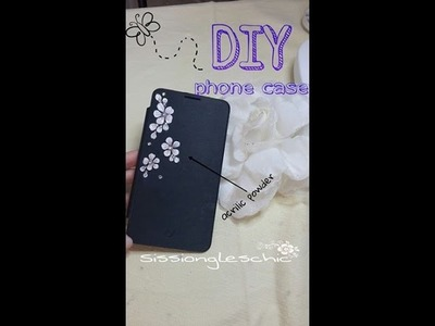 DIY phone case : Come personalizzare una cover con l acrilico.