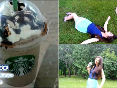 DIY Starbucks Oreo Frappuccino!