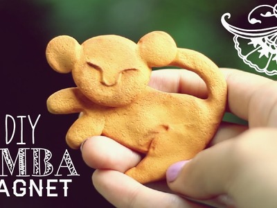 DIY ♥ The Lion King Simba Magnet