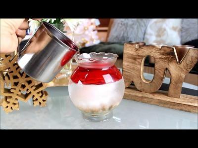 DIY Vela de Gel con Agua