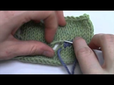 How-To Fix a Hole In Your Knitting