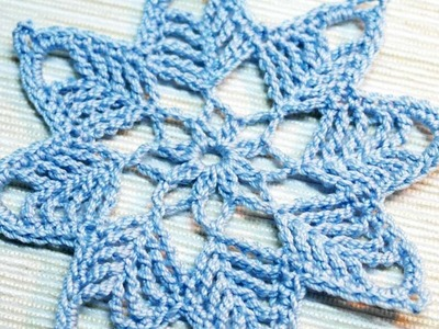 How To Make A Crocheted Snowflake Ornament - DIY Crafts Tutorial - Guidecentral