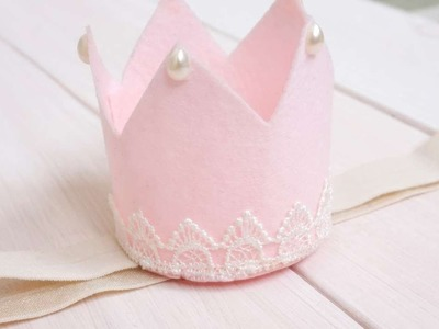 How To Make A Felt Crown For The Little Princess - DIY Crafts Tutorial - Guidecentral
