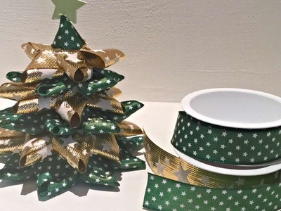 How To Make A Ribbon Christmas Tree - DIY Crafts Tutorial - Guidecentral