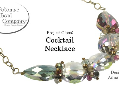 Make a Cocktail Necklace