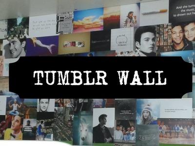 My DIY | Tumblr Wall