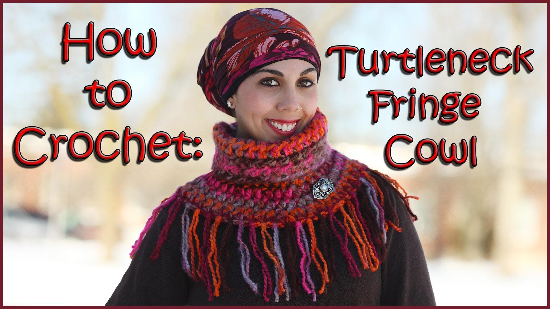 Turtleneck Fringe Cowl