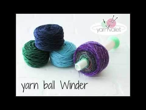 Yarnball Winder video
