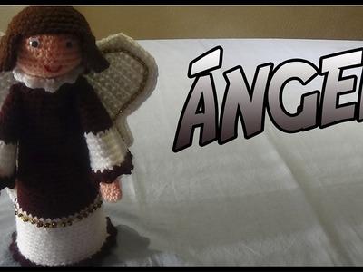Ángel Chico a crochet
