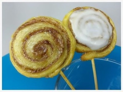 CINNAMON ROLL POPS (How to)