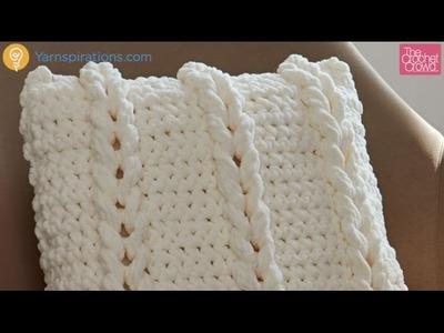 Crochet Chain Links Pillow Tutorial